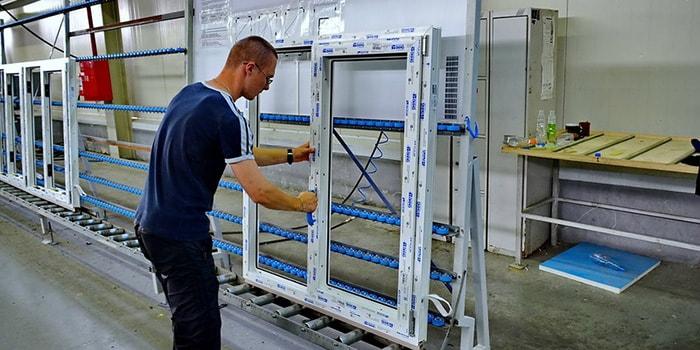 Как делают металлопластиковые окна?