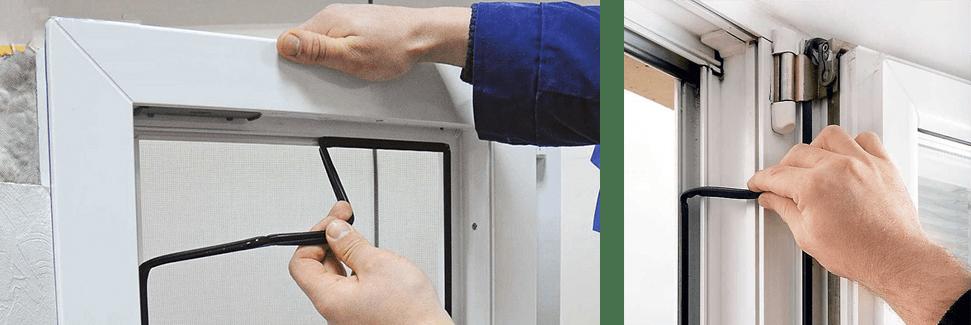 Замена уплотнителей металлопластикого окна